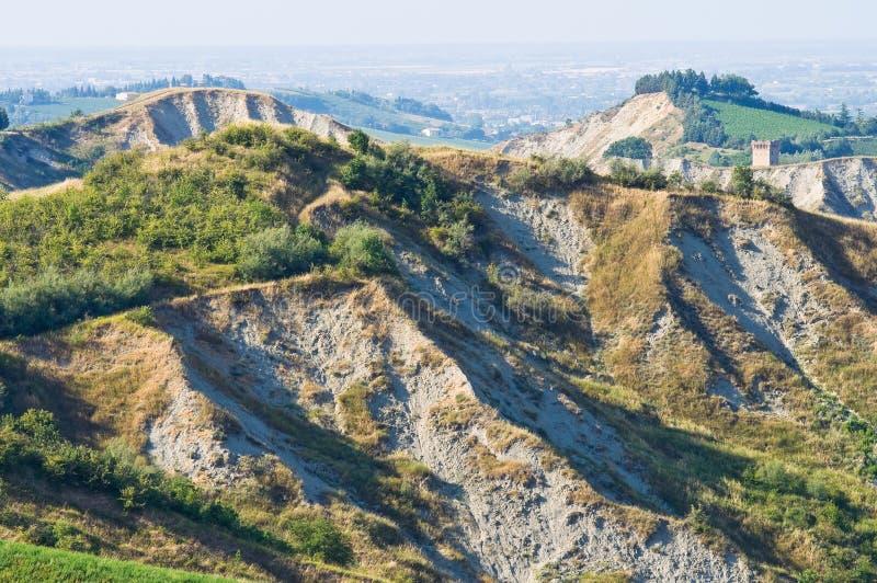 Download Badlands. Emilia-Romagna. Italië. Stock Afbeelding - Afbeelding bestaande uit klip, badlands: 29511969