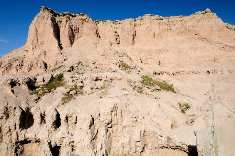 badlands escarpment fotografia stock