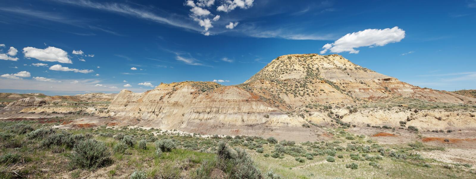 Download Badlands in Montana stock photo. Image of nature, hill - 18927804