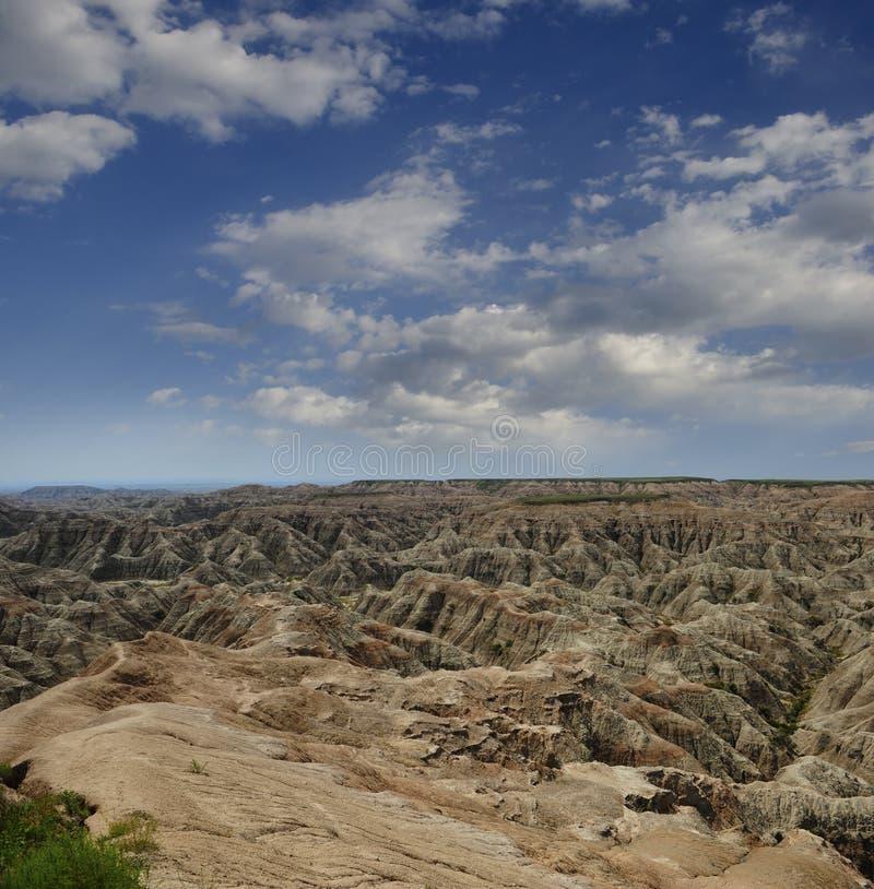 Badlands Nationaal Park stock foto