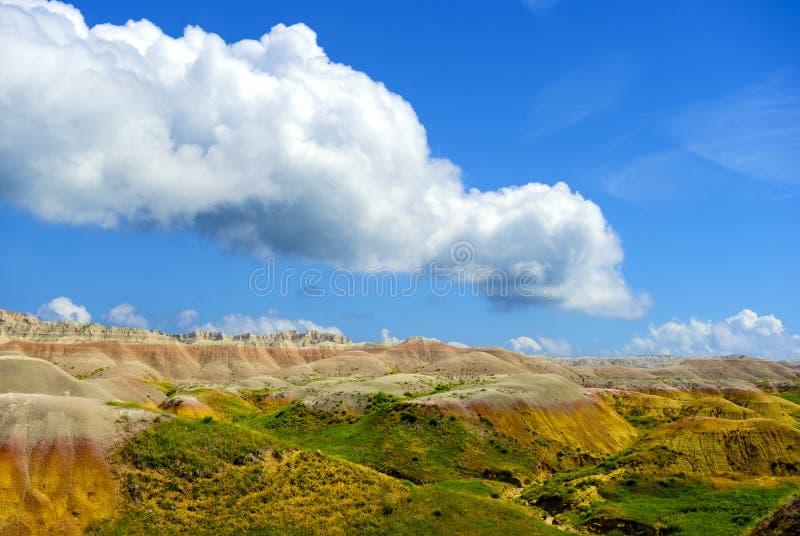 Badlands Nationaal Park stock afbeeldingen