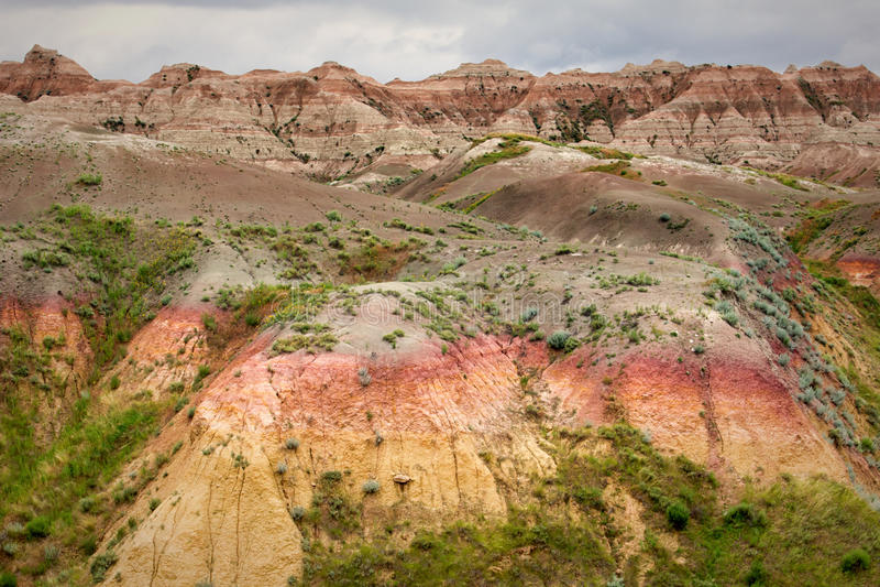 Badlands National Park stock images