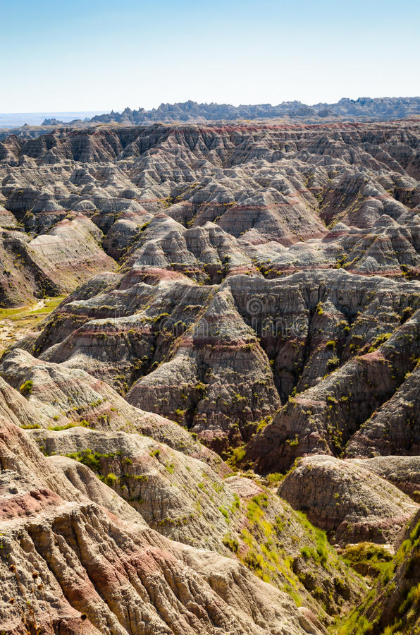 Badlands National Park stock images