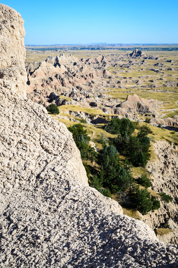 Badlands National Park stock photo