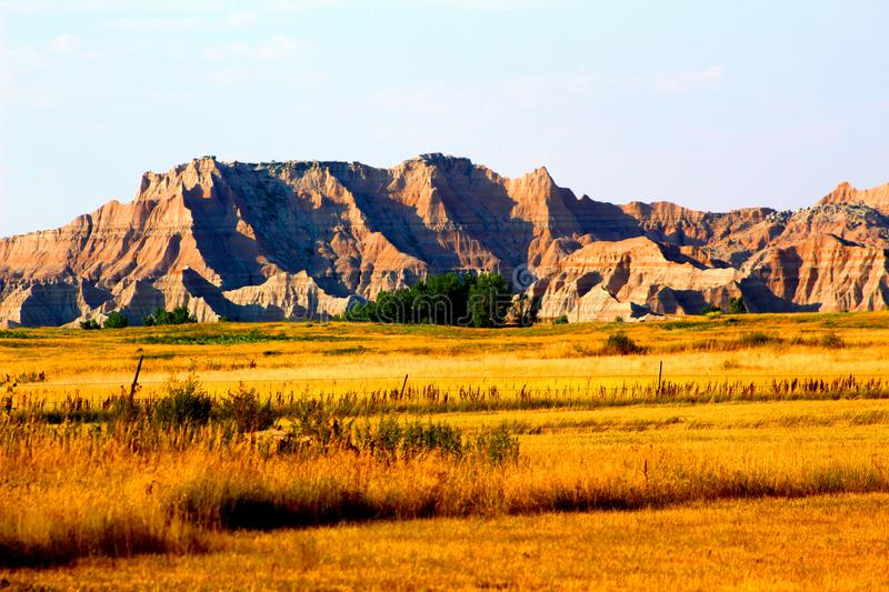 Badlands National Park rugged landscape royalty free stock image
