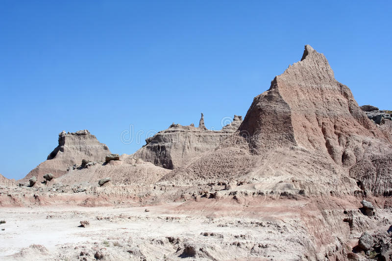 Badlands National Park, South Dakota royalty free stock photo