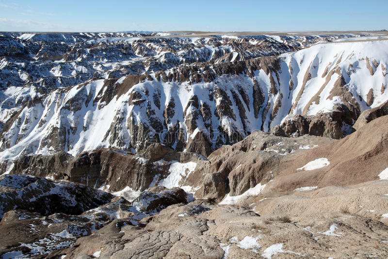 Badlands National Park in South Dakota royalty free stock photo