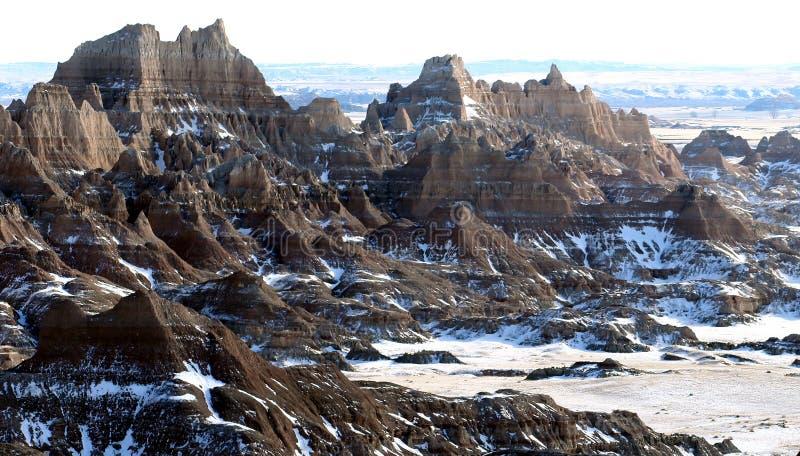 Badlands National Park in South Dakota, USA royalty free stock photos