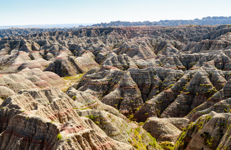 Badlands National Park royalty free stock image
