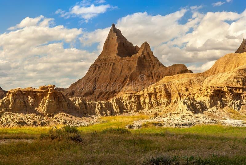 Badlands Park Narodowy Południowy Dakota USA obrazy royalty free