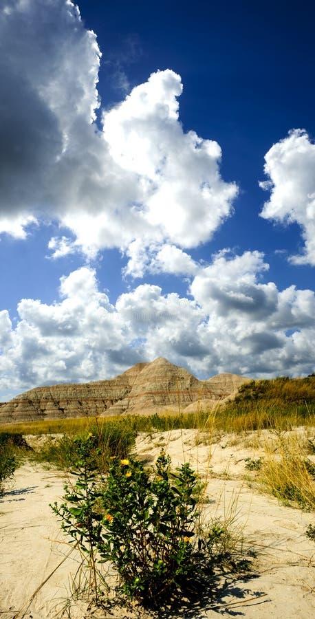 Badlands południe Dakota zdjęcie royalty free