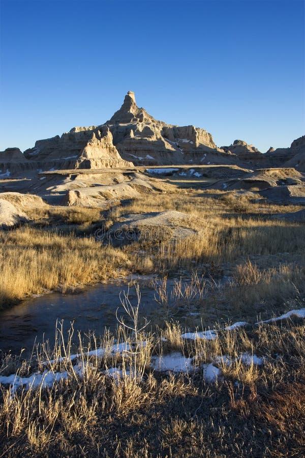 Badlands, South Dakota. royalty free stock photography