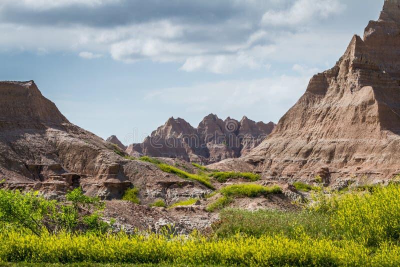 Badlands, South Dakota royalty free stock photography