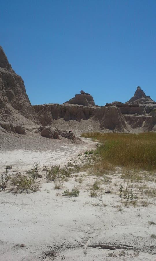 Badlands, Zuid-Dakota royalty-vrije stock foto's