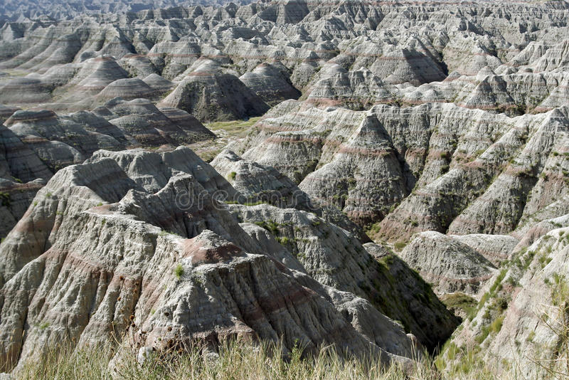 badlandsnationalpark arkivfoton