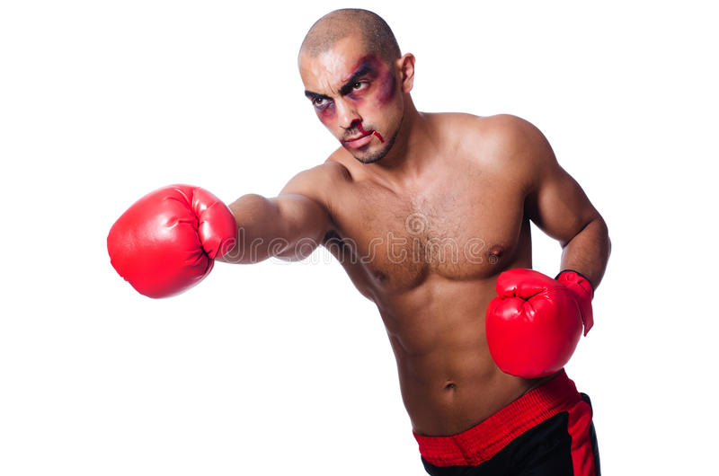 Download Badly Beaten Boxer Stock Photography - Image: 33678352