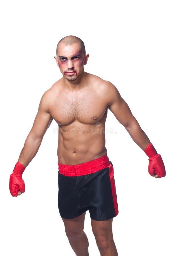 Download Badly beaten boxer stock image. Image of hematoma, formal - 33965343