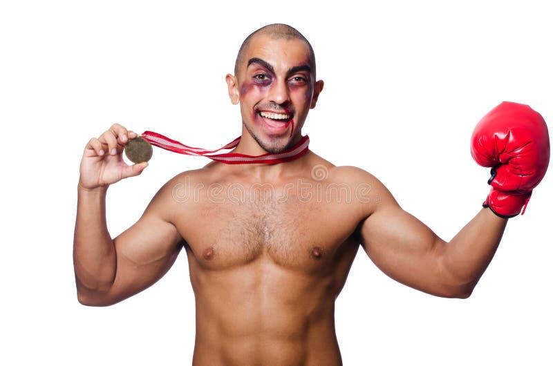 Download Badly beaten boxer stock photo. Image of boxer, kickboxing - 34868694