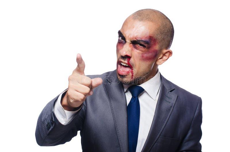 Download Badly Beaten Businessman Stock Photo - Image: 42202545