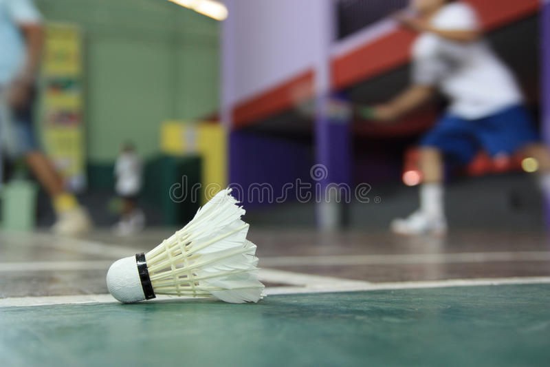 Download Badminton zdjęcie stock. Obraz złożonej z fielder, depresja - 10605370