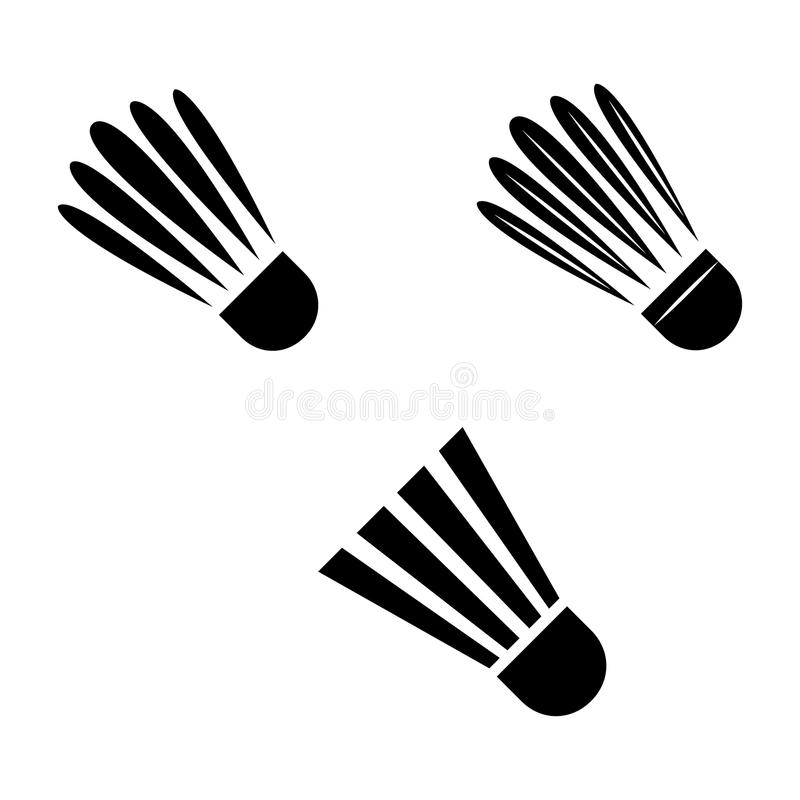 badminton royalty ilustracja