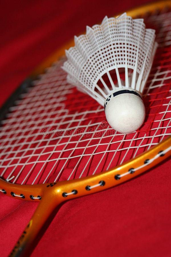 Badminton stockfotos