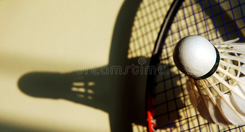 Badminton lizenzfreie stockbilder
