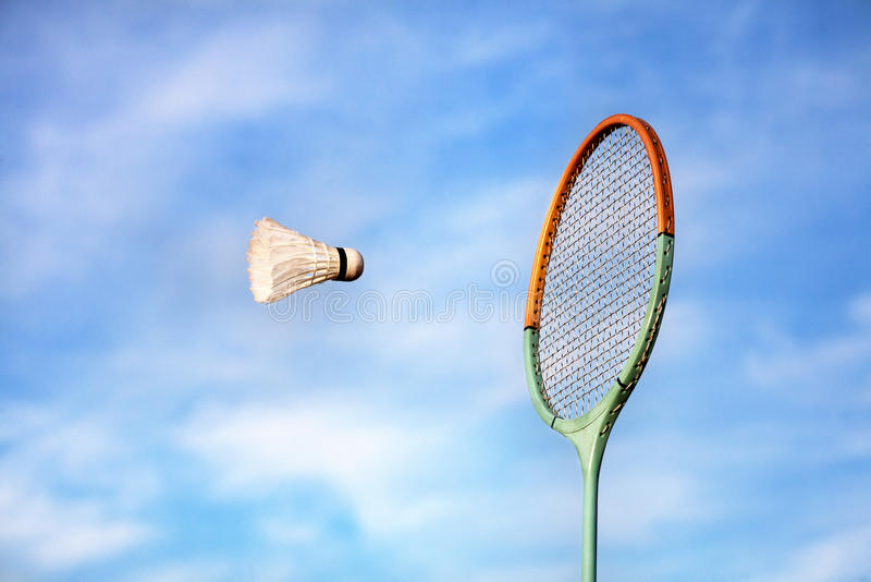 Badminton lizenzfreies stockfoto