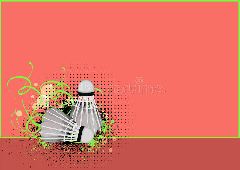 Download Badminton stock illustration. Image of nylon, cone, equipment - 25687032