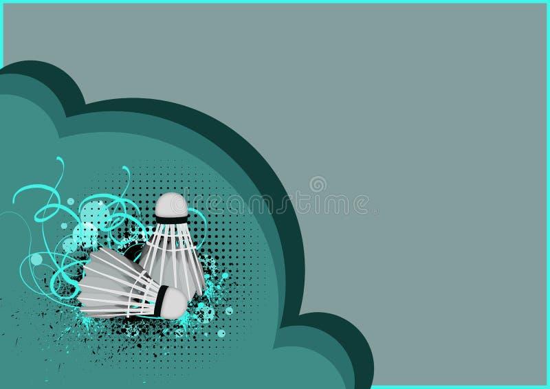 Badminton ilustração stock