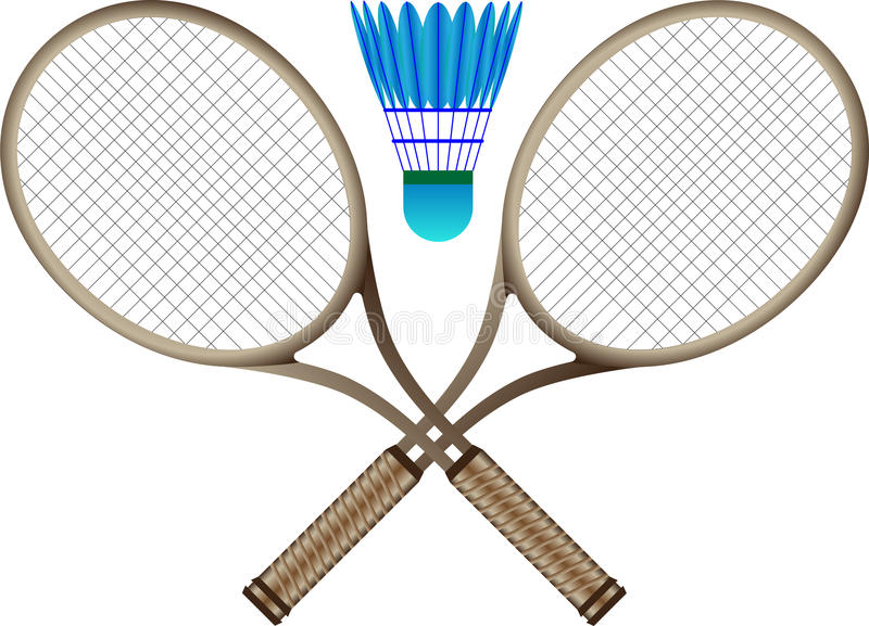 Badminton vector illustration