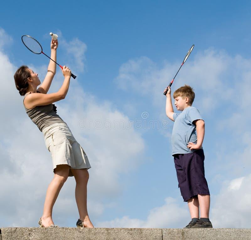 badminton стоковые фото