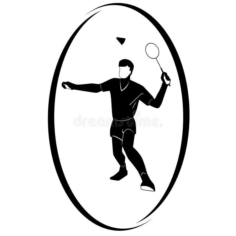 Badminton ilustração do vetor