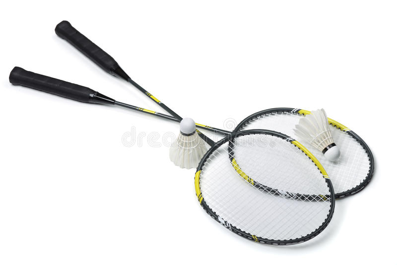 badminton stock foto