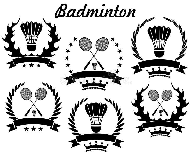 badminton vector illustratie