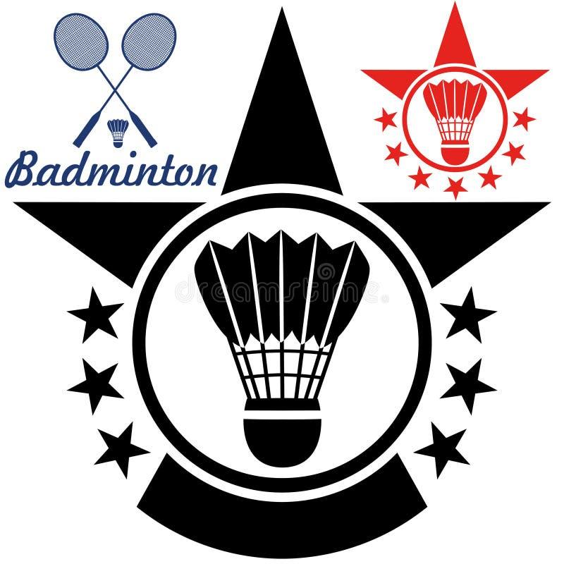 badminton royalty-vrije illustratie