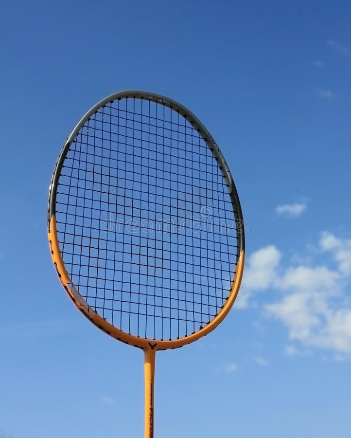 badminton błękitny kanta niebo zdjęcie stock