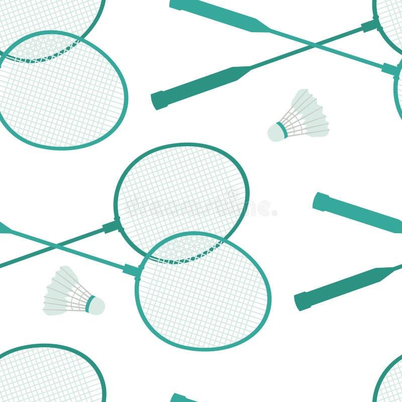Badminton background royalty free illustration