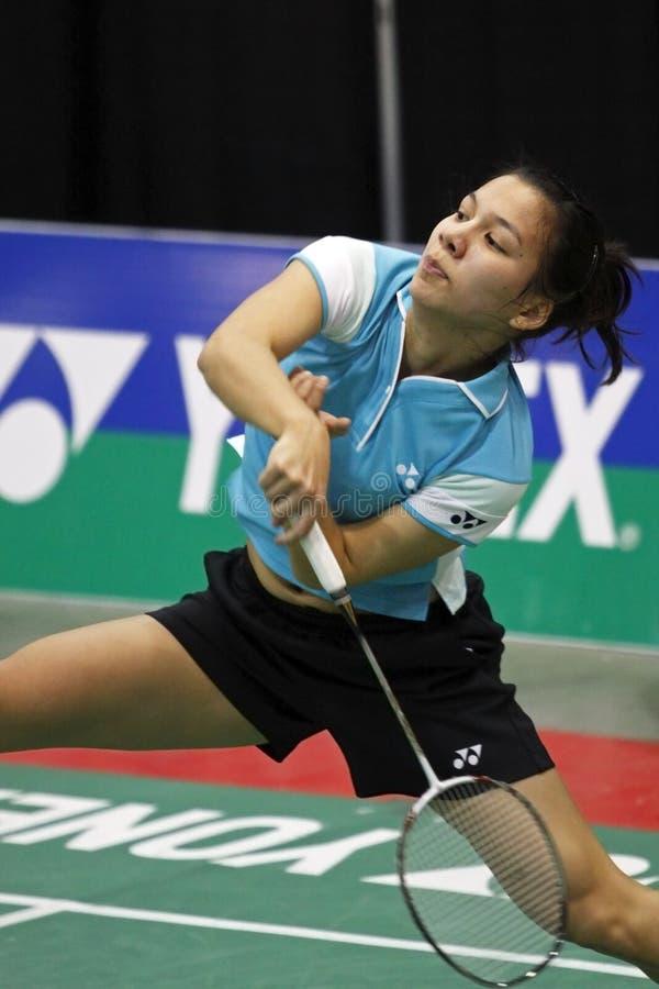 Download Badminton Belgium Woman Speed Action Editorial Photography - Image: 22471007