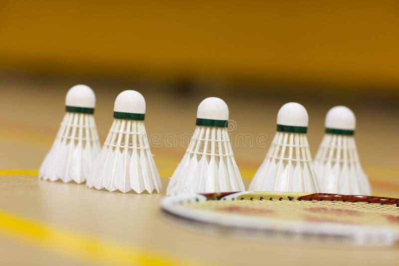 Badminton Birds Royalty Free Stock Photos
