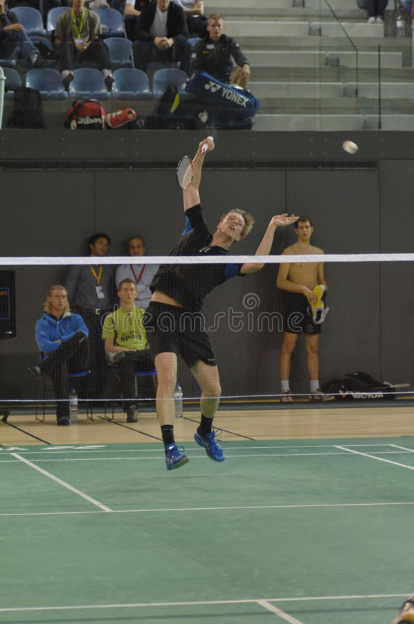 Download Badminton championship editorial photography. Image of compete - 14178457