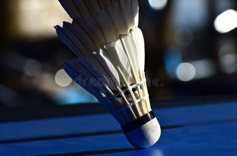 Badminton części ciała tła Korkowa fotografia zdjęcia stock