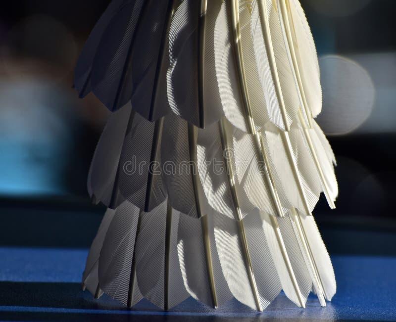 Badminton części ciała zapasu Korkowa fotografia fotografia stock