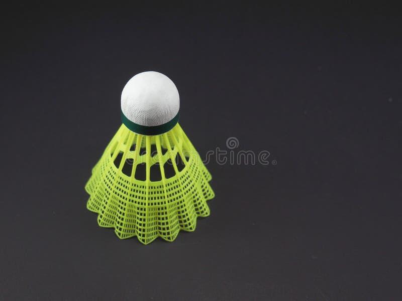 Badminton Geel Plastiek royalty-vrije stock fotografie