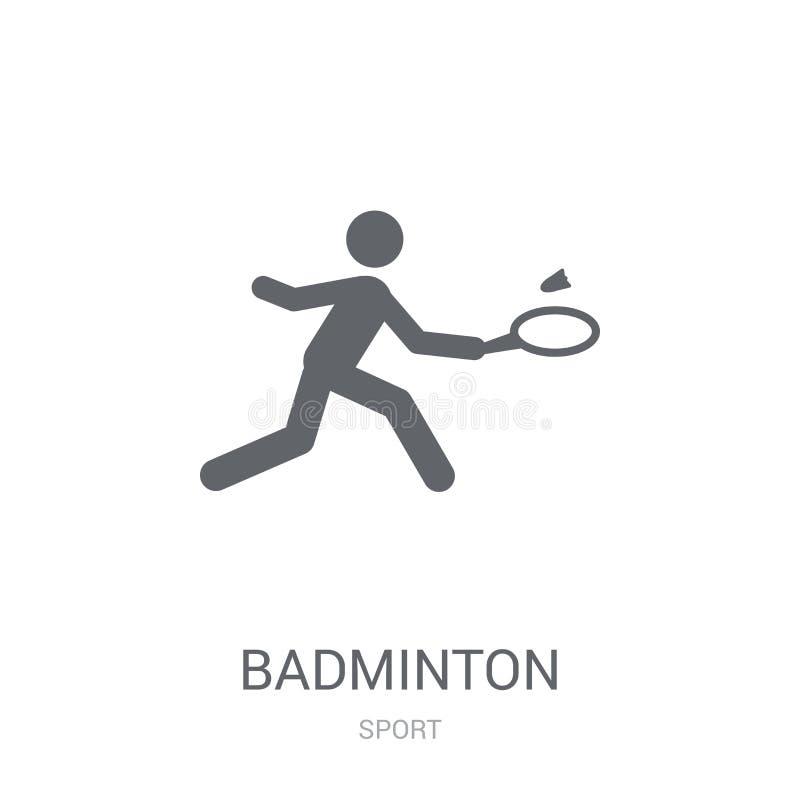 badminton ikona  ilustracja wektor