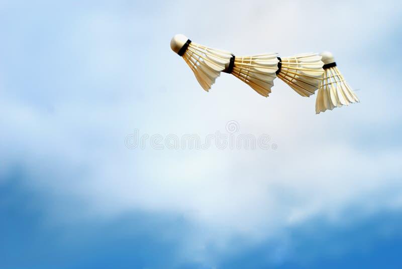badminton piłka fotografia stock