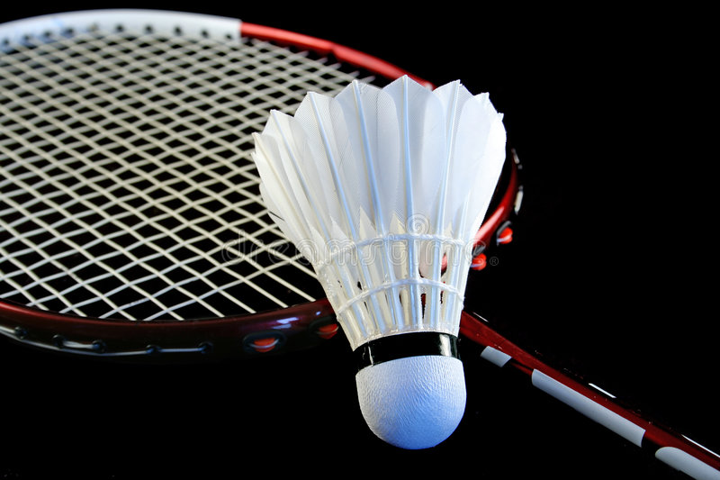 Download Badminton racket stock image. Image of strings, feathers - 2053143