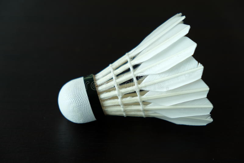 Badminton-Shuttle lizenzfreies stockbild