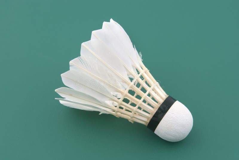 Badminton shuttlecock lizenzfreies stockbild