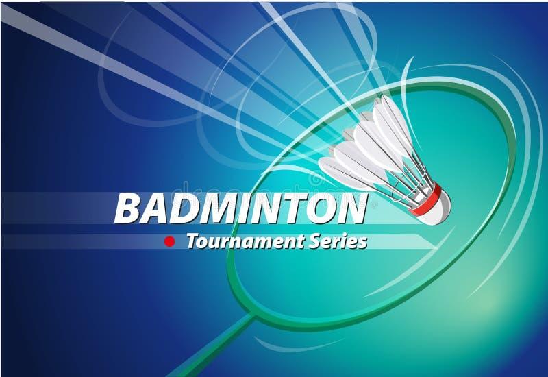 Badminton vector illustration